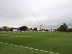 A late Spurs corner at their Hotspur Way Training Ground