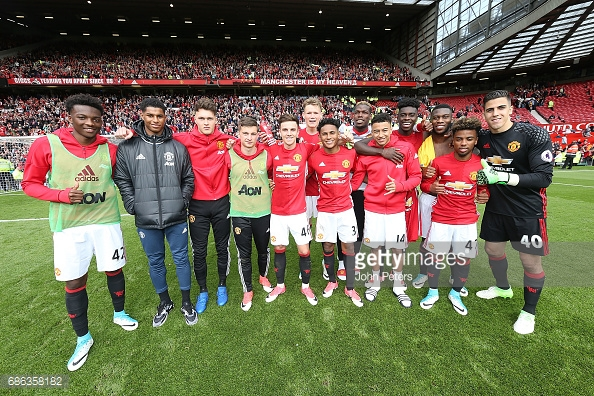 13 Utd youngsters